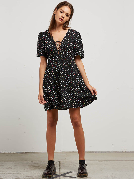 April March Dress In Dot, Front View