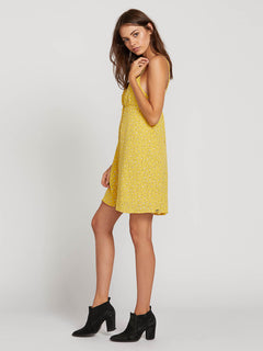 Volcom Womens Hey Bud Flare Cami Dress