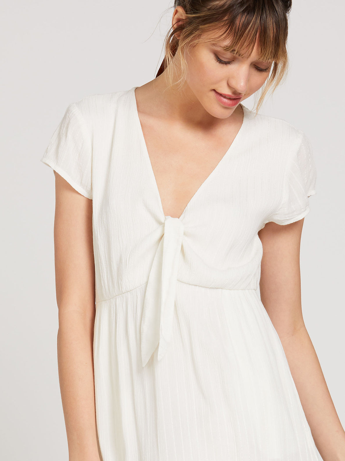 Anytime N Place Dress - White (B1322001_WHT) [50]