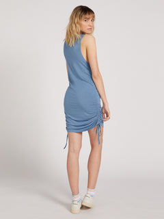 Cinch U Were Gone Dress - Laguna Blue (B1322013_LAG) [2]