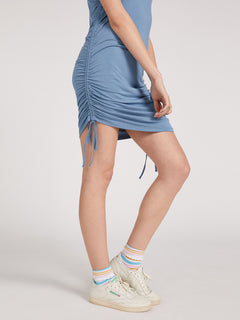 Cinch U Were Gone Dress - Laguna Blue (B1322013_LAG) [50]