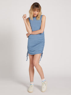 Cinch U Were Gone Dress - Laguna Blue (B1322013_LAG) [F]