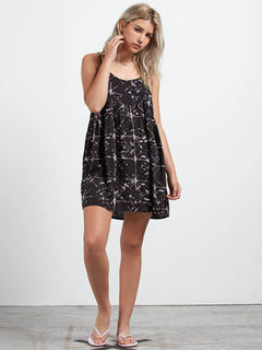 Things Change Dress In Black, Front View