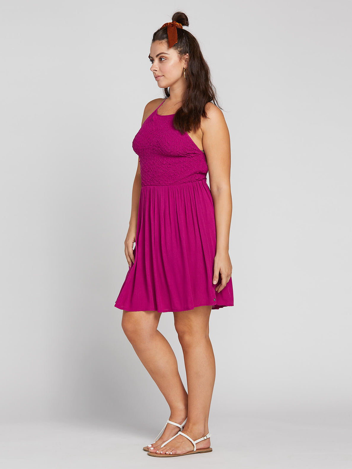 Haute Stone Dress In Paradise Purple, Alternate Extended Size View