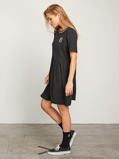 Stone Dreamin Dress In Black, Alternate View