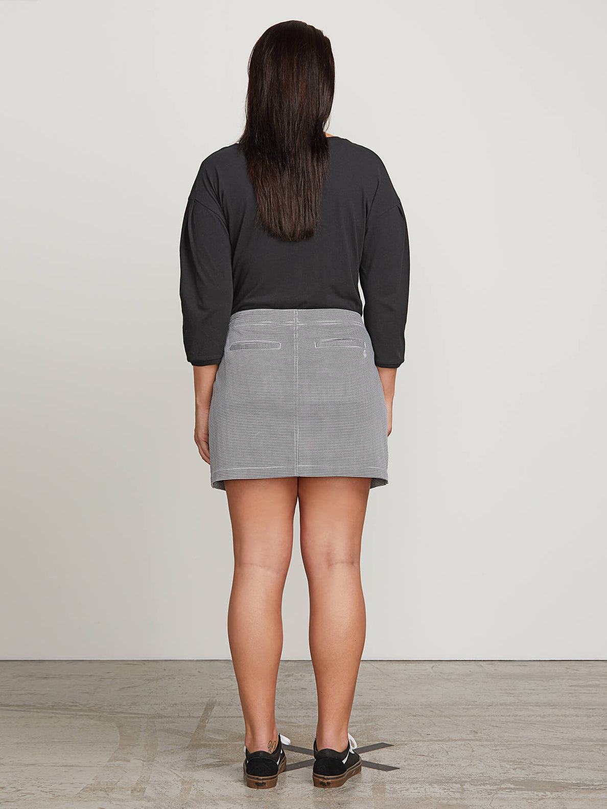 Frochickie Skirt In Black Combo, Back Extended Size View