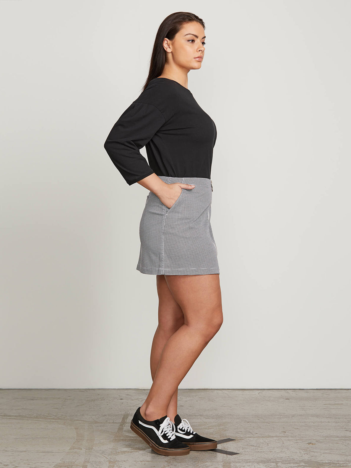 Frochickie Skirt In Black Combo, Alternate Extended Size View