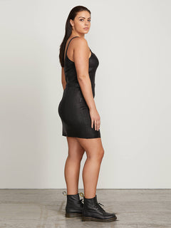 Hey Slick Skirt In Black, Alternate Extended Size View