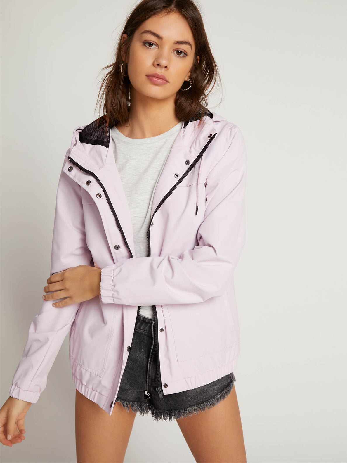 Enemy Stone Jacket In Light Purple, Second Alternate View
