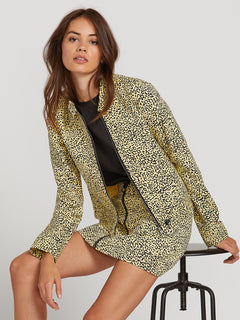 Frochickie Jacket In Leopard, Second Alternate View