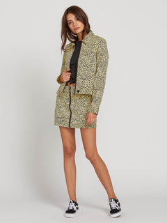 Frochickie Jacket In Leopard, Third Alternate View