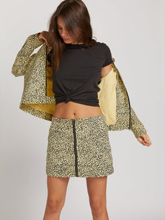 Frochickie Jacket In Leopard, Sixth Alternate View