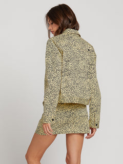 Frochickie Jacket In Leopard, Back View