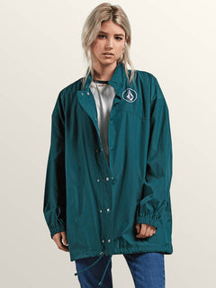 Volstratus Stone Jacket In Evergreen, Second Alternate View