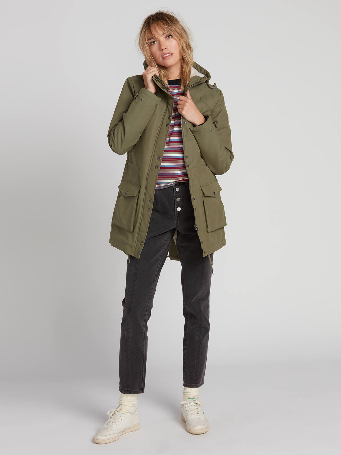 Volcom Damen Jacke Walk On By 5K Parka