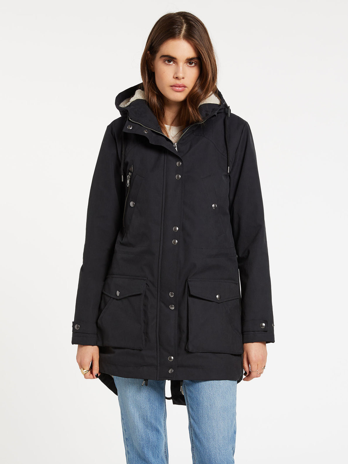 Walk On 5K Parka - Black (B1732050_BLK) [F]