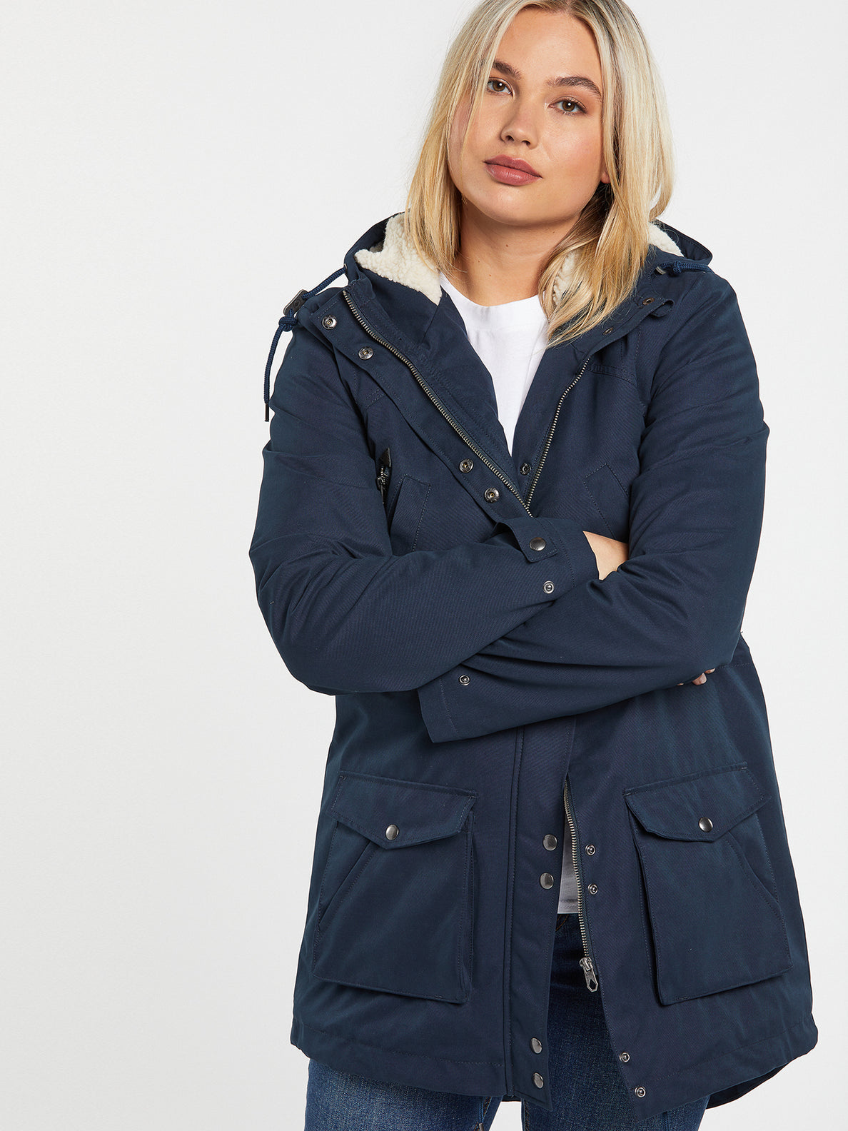 Walk On 5K Parka - Sea Navy (B1732050_SNV) [12]