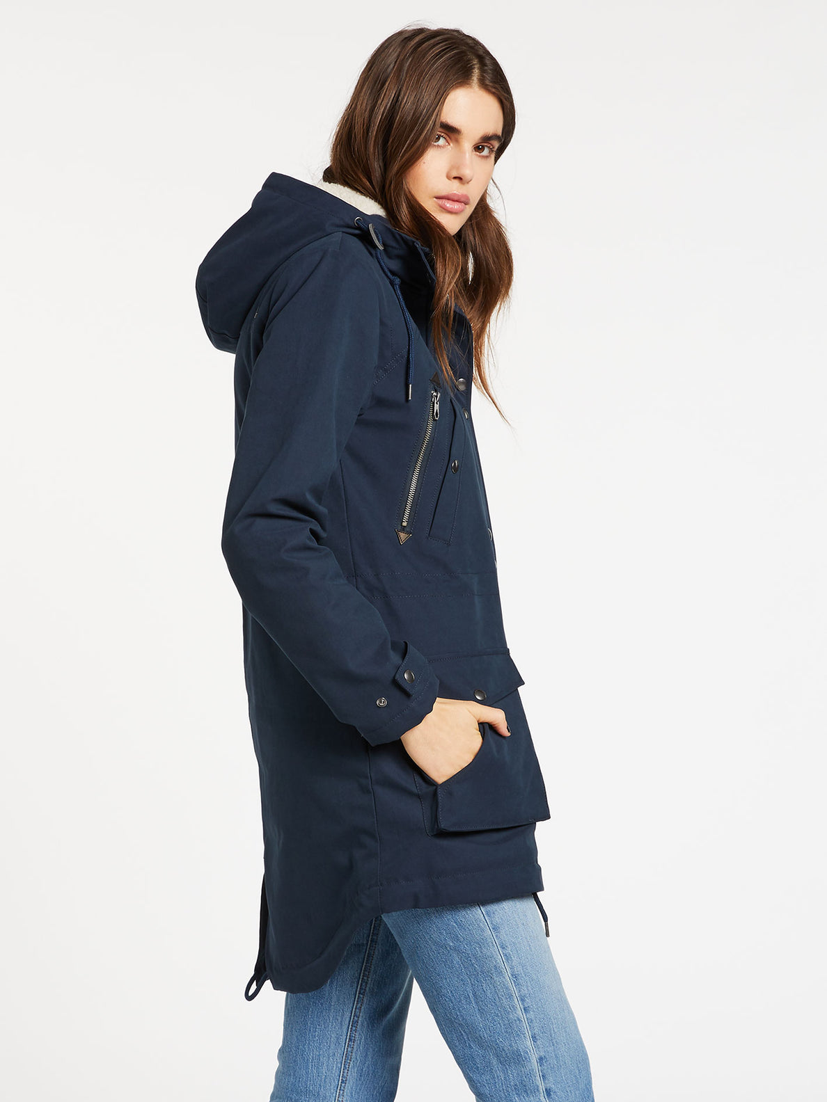 Walk On 5K Parka - Sea Navy (B1732050_SNV) [1]