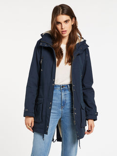 Walk On 5K Parka - Sea Navy (B1732050_SNV) [2]