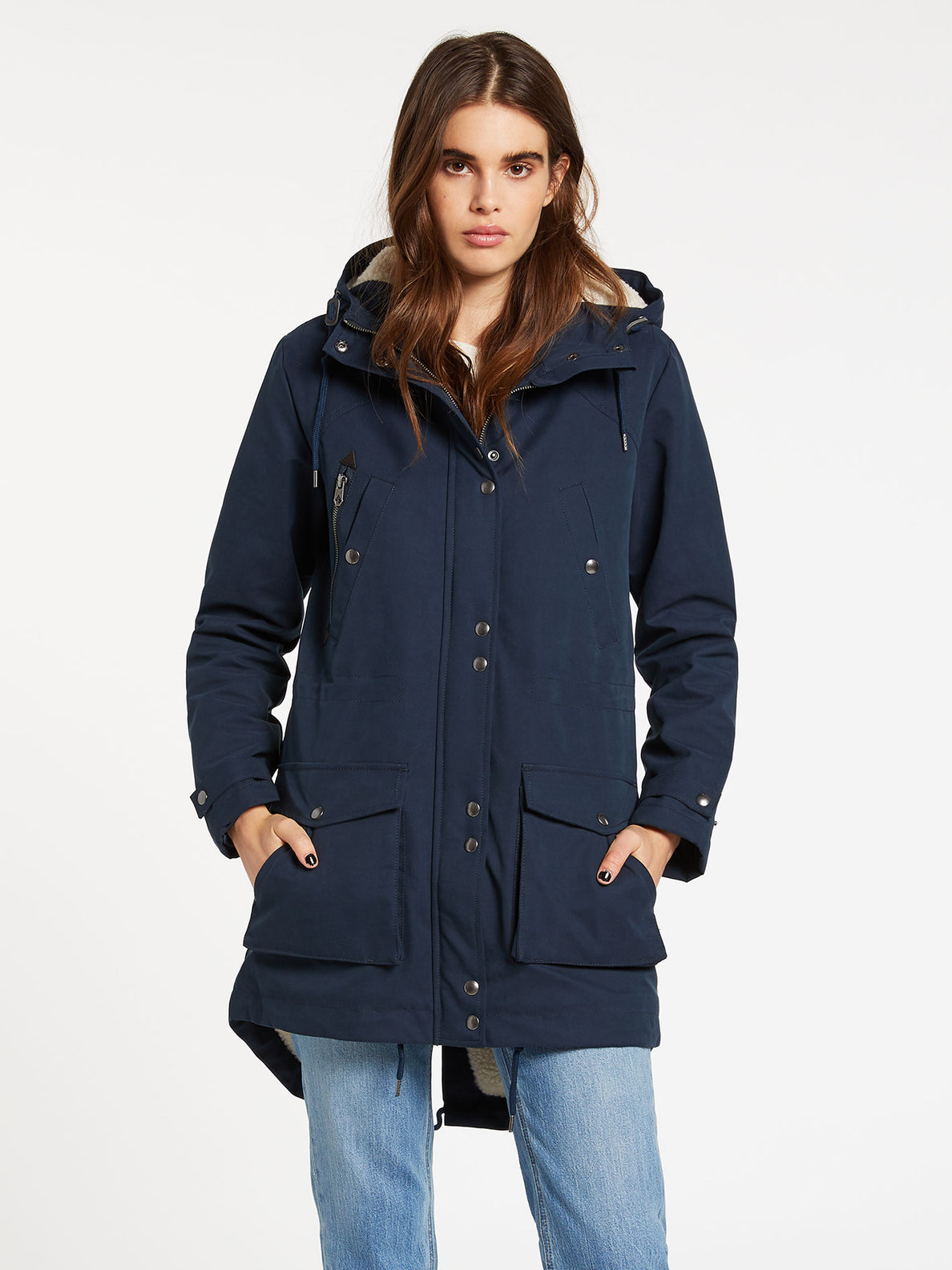 Walk On 5K Parka - Sea Navy (B1732050_SNV) [F]
