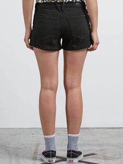 Stoned Short Rolled Shorts