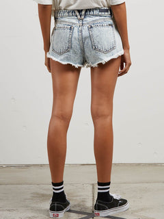 Stoney Micro Short In Cloud Blue, Back View