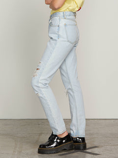 Super Stoned Skinny Jeans In Glacier Blue, Alternate View