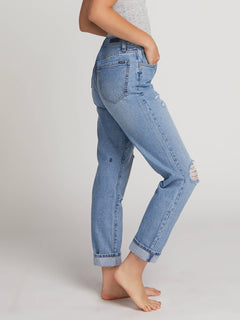 Super Stoned Skinny Jeans In Matured Blue, Alternate View