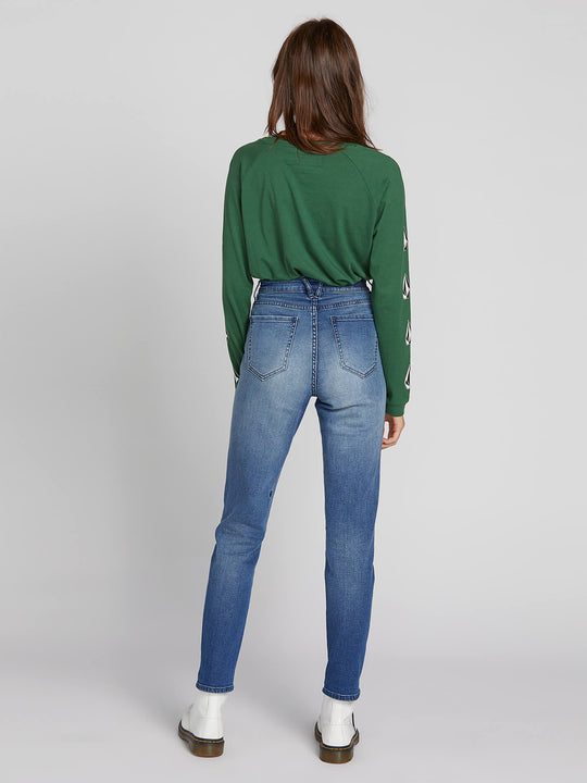 Super Stoned Skinny Jeans - Medium Blue Wash (B1931801_MBW) [B]