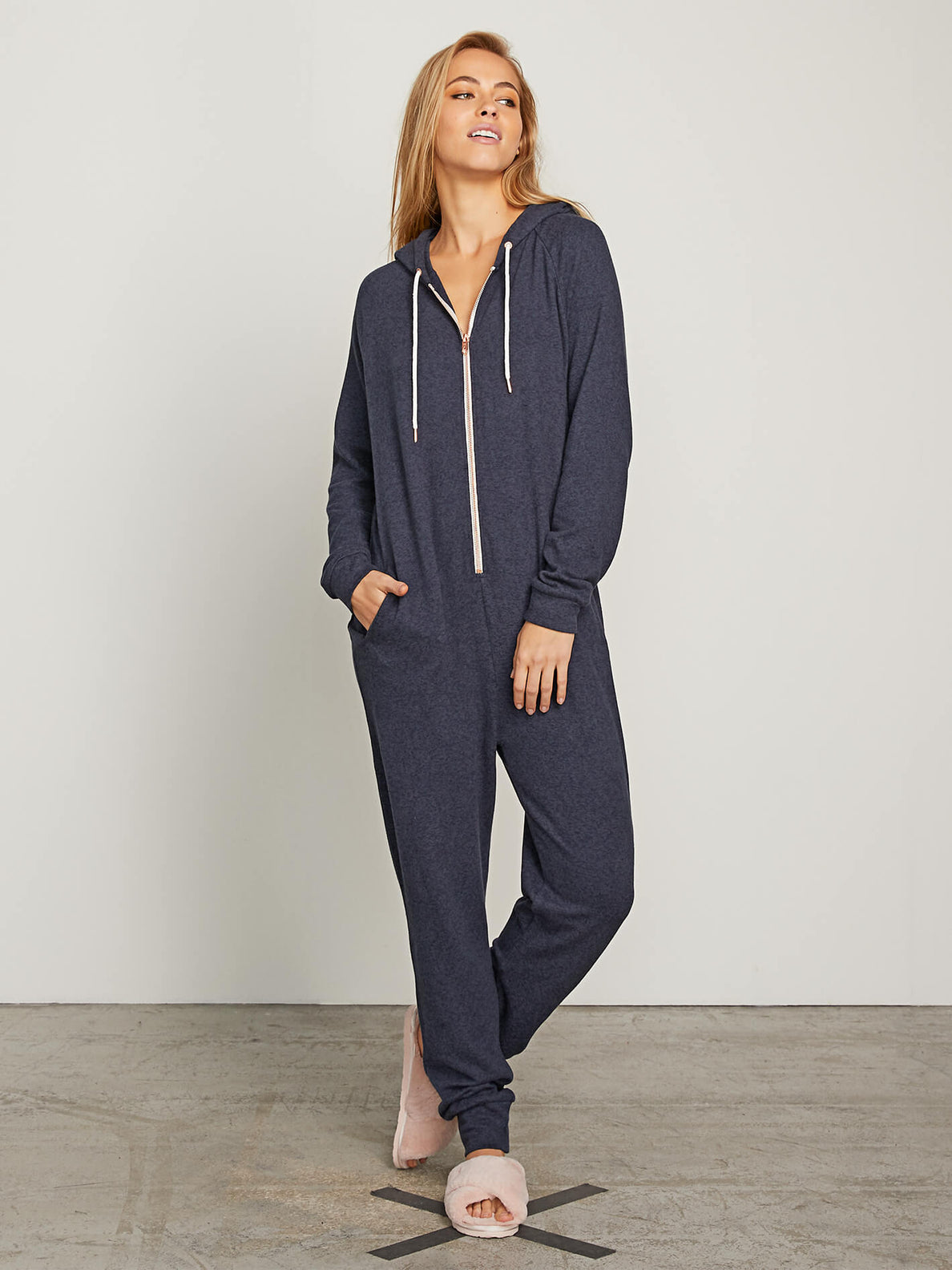 69e6d36808 Lived In Lounge Onesie | Women's Zip Up Hooded Onesie | Volcom