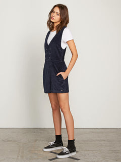 Win Me Ova Romper In Sea Navy, Alternate View
