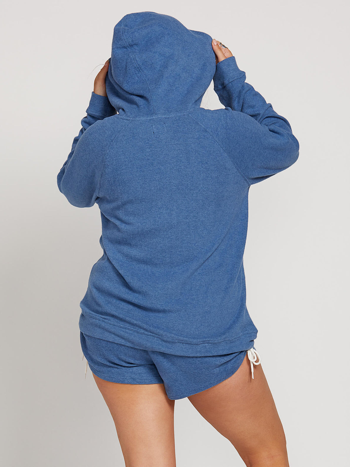 Lived In Lounge Hoodie In Blue Drift, Back Extended Size View