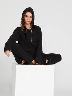 Lived In Lounge Hoodie - Black (B3111801_BLK) [2]