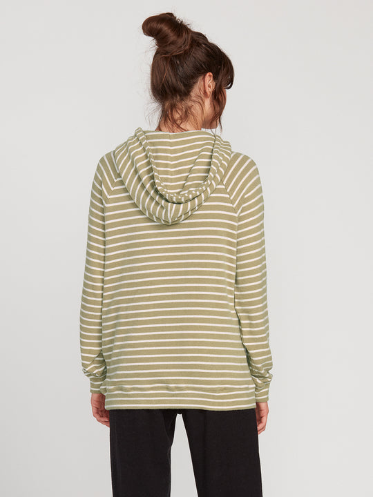 LIVED IN LOUNGE HOODIE - DUSTY GREEN
