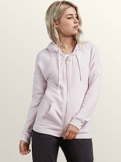 Lil Zip Hoodie - Light Purple