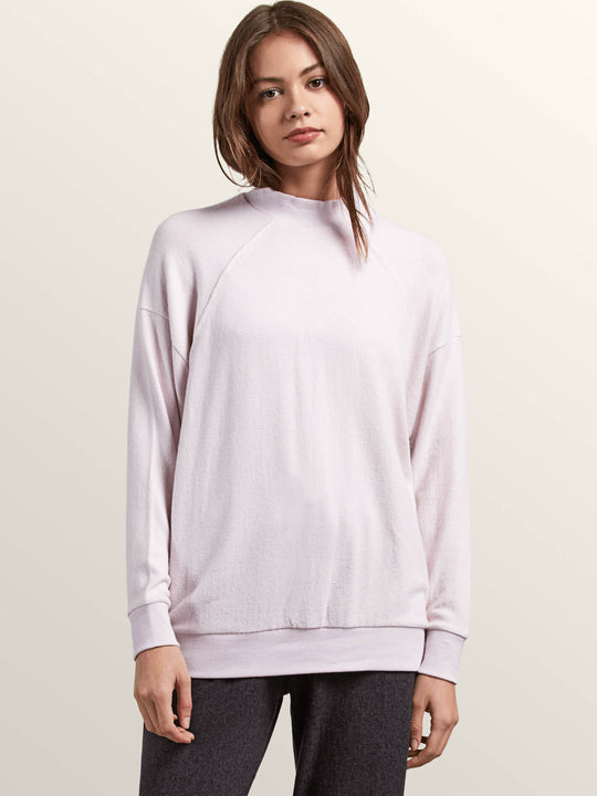 Lil Mock Neck Sweatshirt