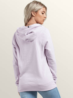 Vol Stone Hoodie In Light Purple, Back View