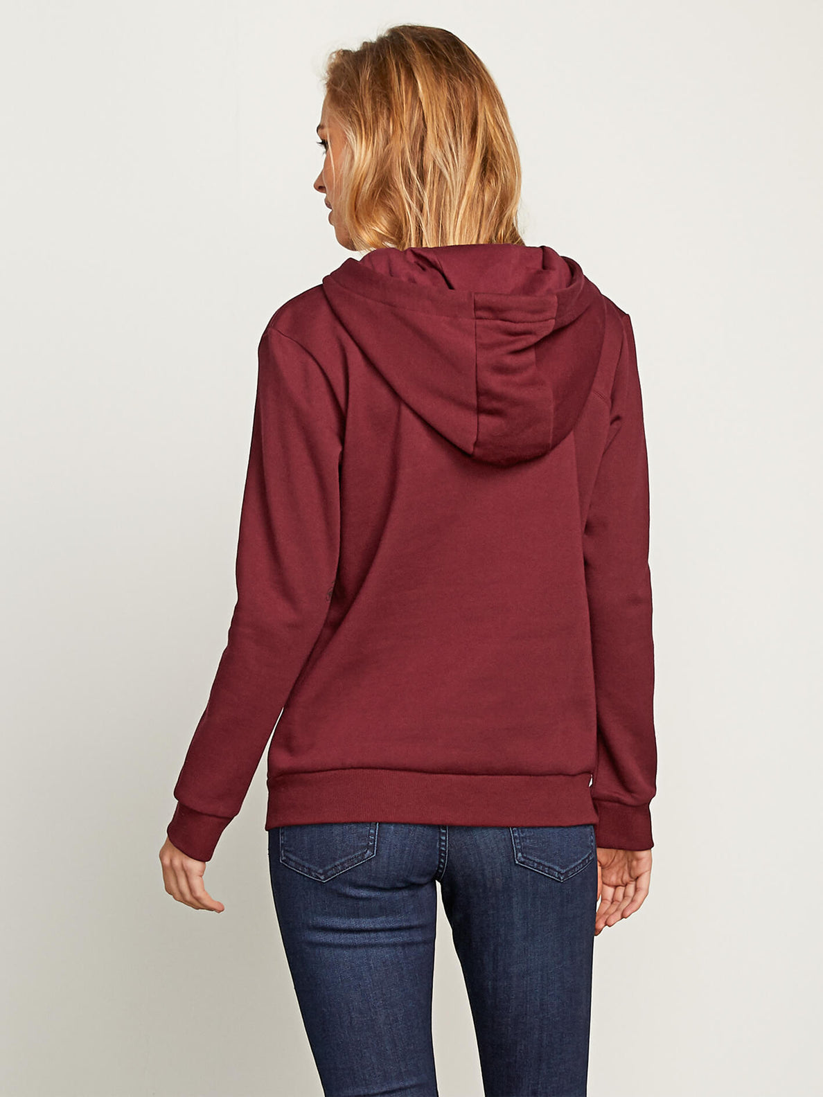 Walk On By High Neck In Zinfandel, Back View