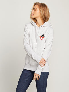 Vol Stone Hoodie In Light Grey, Alternate View