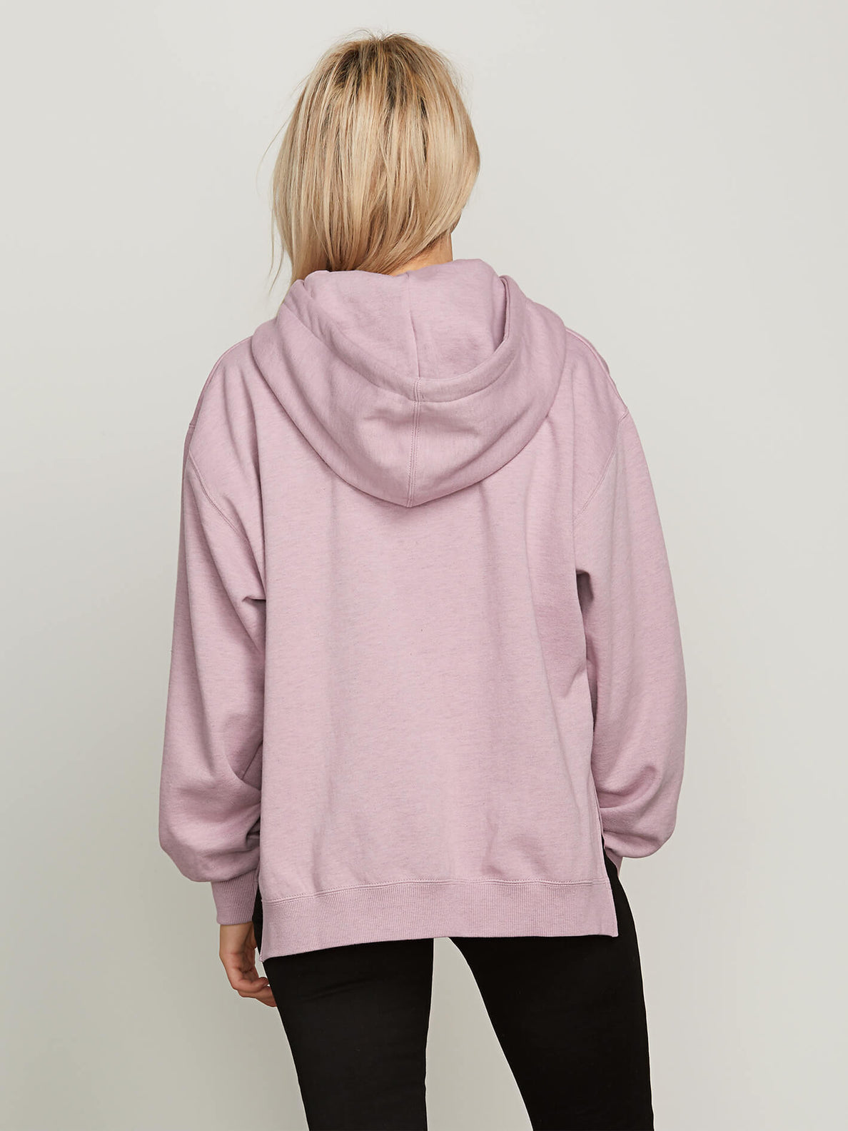 Need To Vent Hoodie In Violet Dust, Back View