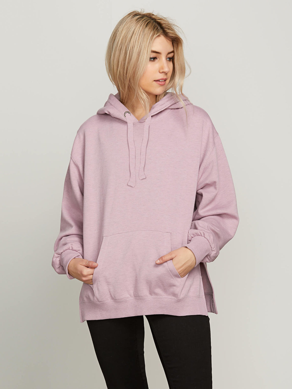 Need To Vent Hoodie In Violet Dust, Front View