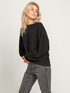 Fleece Pleaze Crew Sweatshirt
