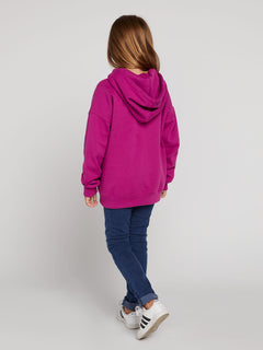Big Girls Knew Wave Hoodie In Paradise Purple, Alternate View