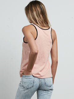 Cosmic Clash Tank In Mellow Rose, Back View
