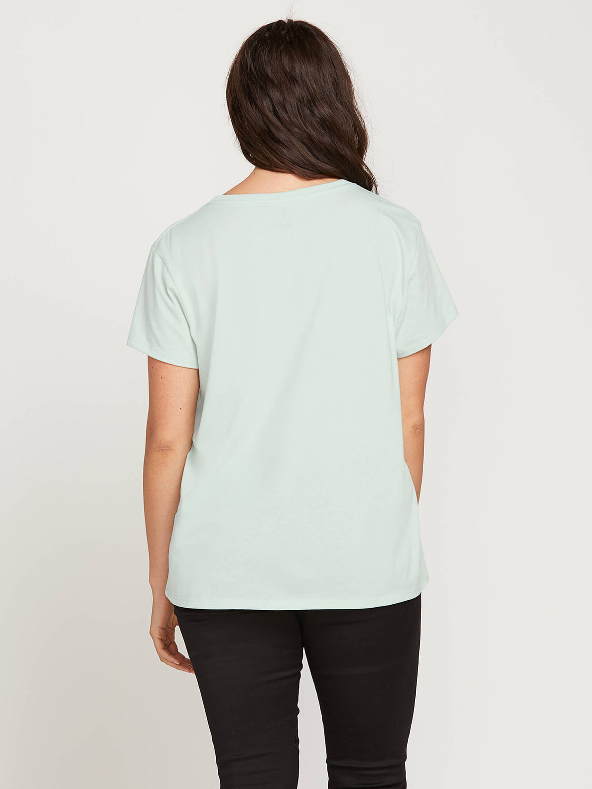 Easy Babe Rad 2 Tee In Mint, Back Extended Size View