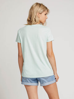 Easy Babe Rad 2 Tee In Mint, Back View