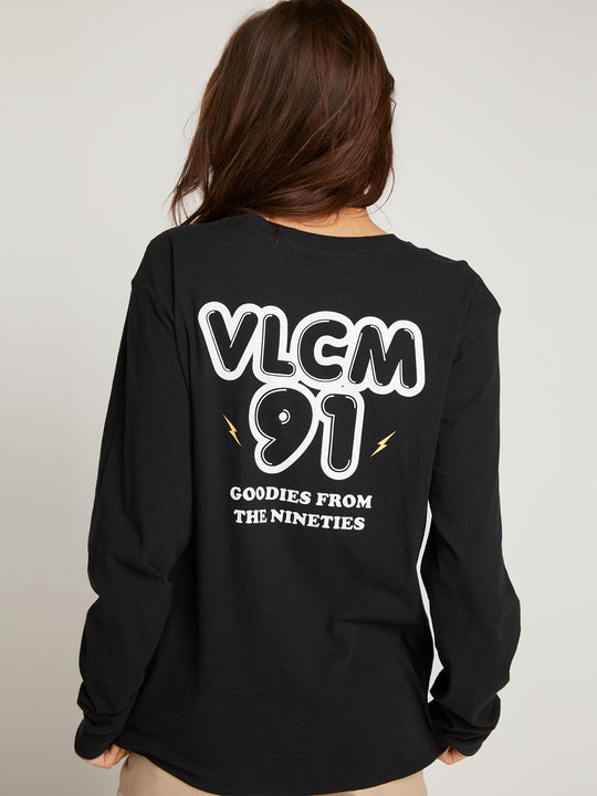 Vlcm 1991 Long Sleeve Tee - Black