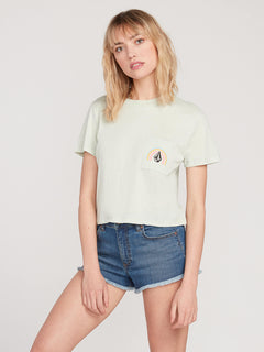 POCKET DIAL TEE (B3512000_SEA) [F]