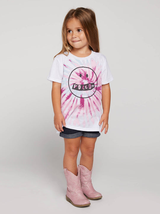 Little Girls Last Party Tee In White, Alternate View