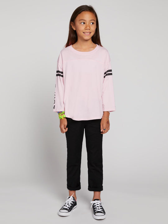 Big Girls Team Volcom Long Sleeve Tee